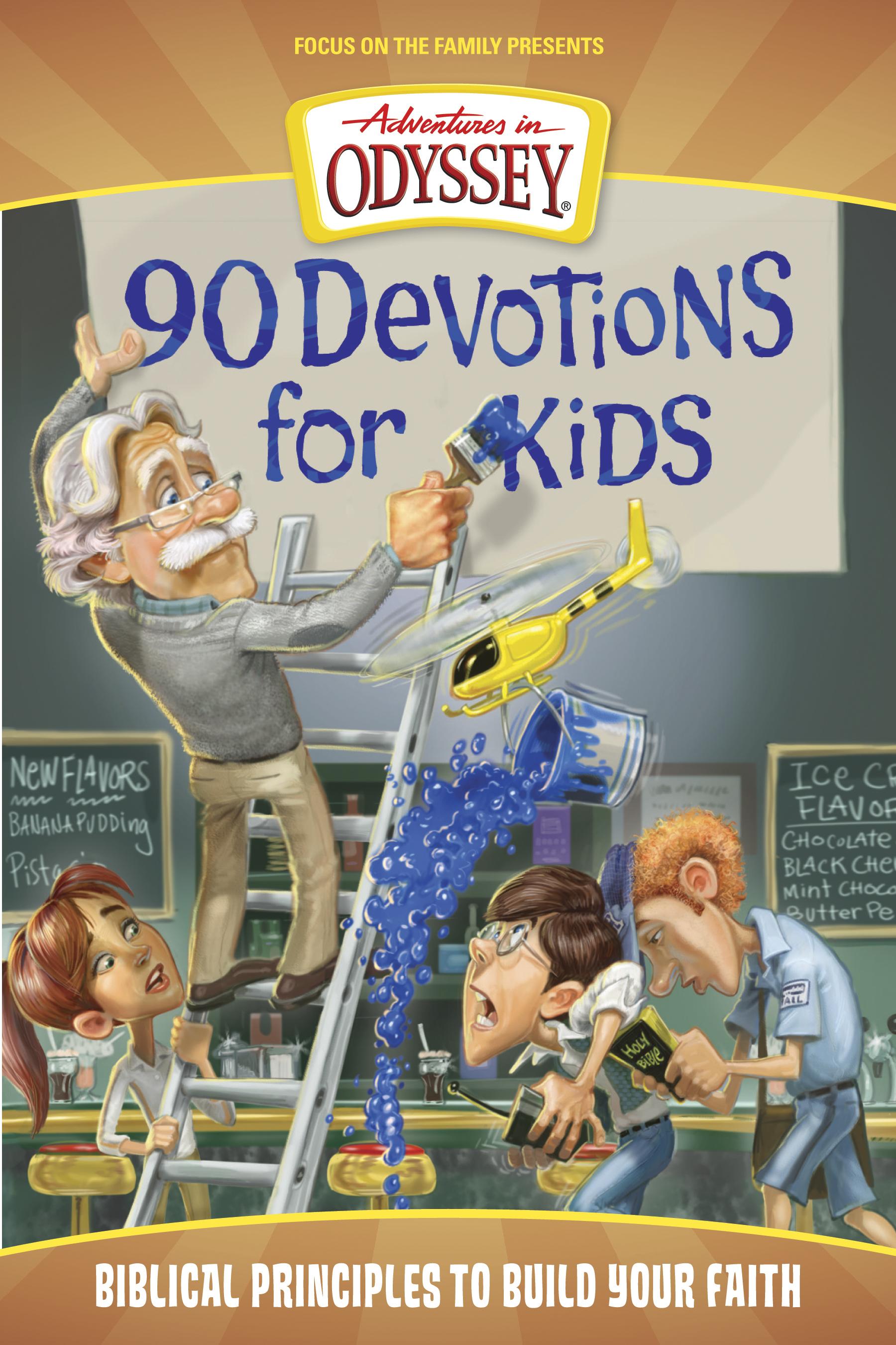 Adventures in Odyssey Books: 90 Devotions for Kids - Alfa y Omega ES, tu  tienda de ebooks