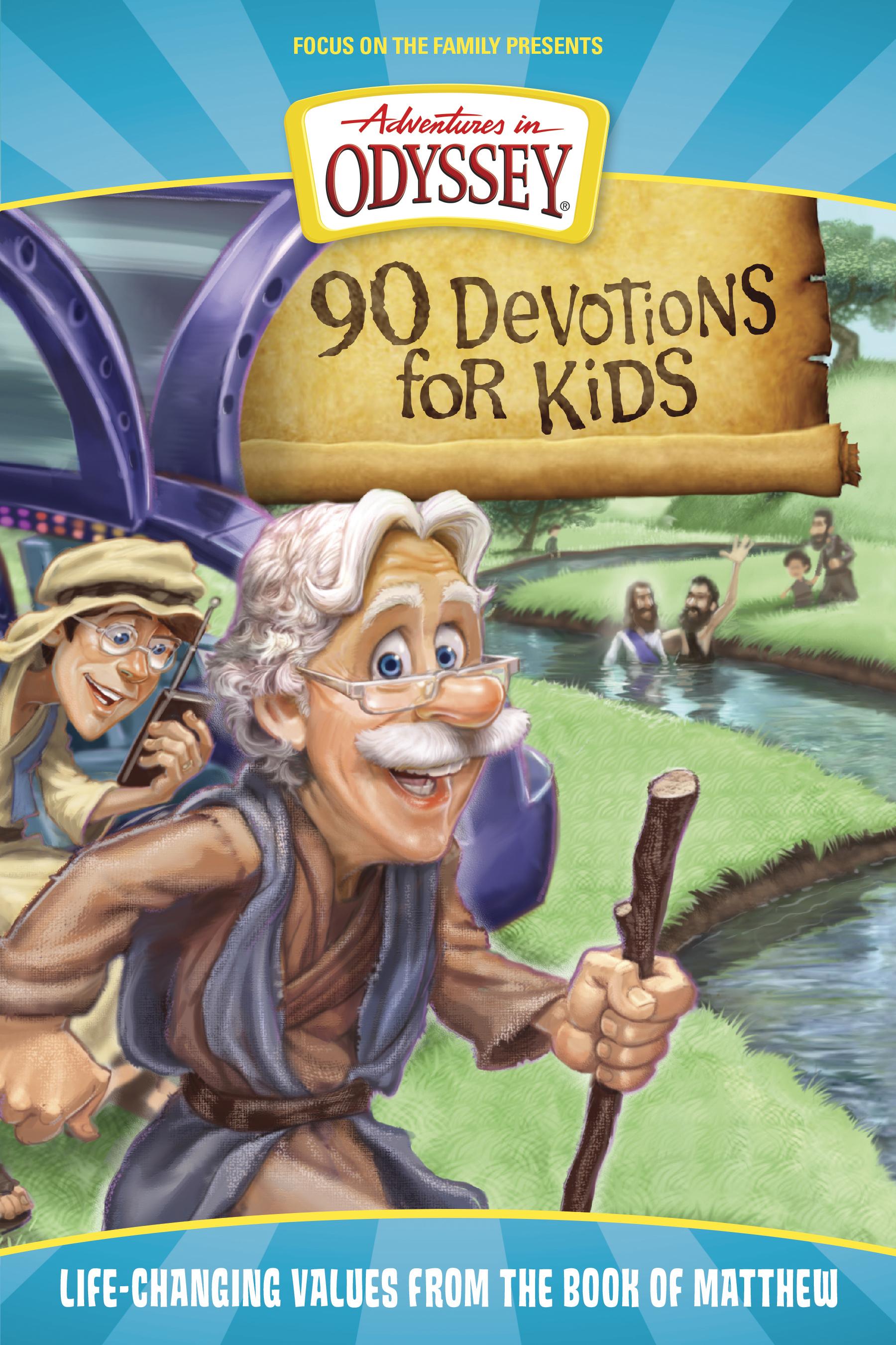 Adventures in Odyssey Books: 90 Devotions for Kids in Matthew - Tyndale V2,  tu tienda de ebooks